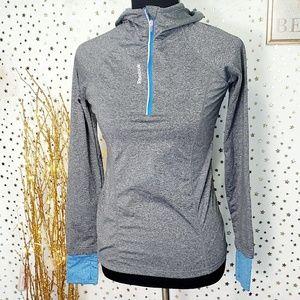 Reebok reflective Athletic sweatershirt size xs
